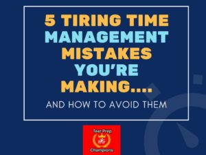 5 Tiring time management mistakes students make